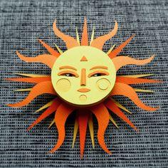 Sun. #papercut