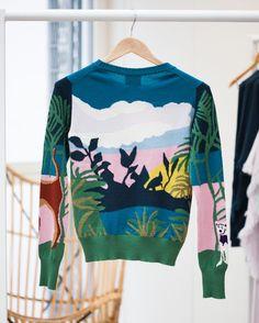 Getting wild on Monday #barrie #barrieknitwear #cashmere #madeinscotland #savoirfaire #knowhow #ss17