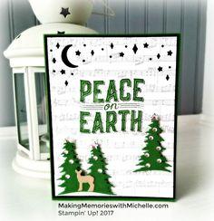 Carols of Christmas Stampin' Up! 2017  MakingMemorieswithMichelle.com
