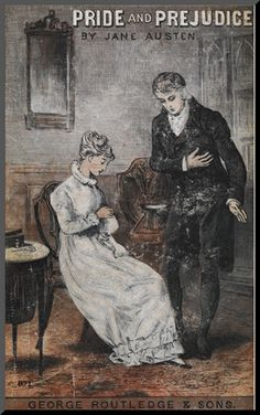 Front Cover To the Novel, 'Pride and Prejudice' by Jane Austen Giclee Print