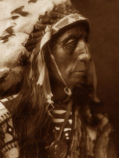 Jack Red Cloud, 1908, by Edward S. Curtis. A sub chief in the Sioux tribe in the Great Plains.