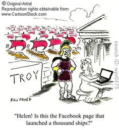 Helen of Troy humor