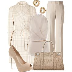 A fashion look from October 2012 featuring Helmut Lang blouses, Burberry coats and Etro pants. Browse and shop related looks.