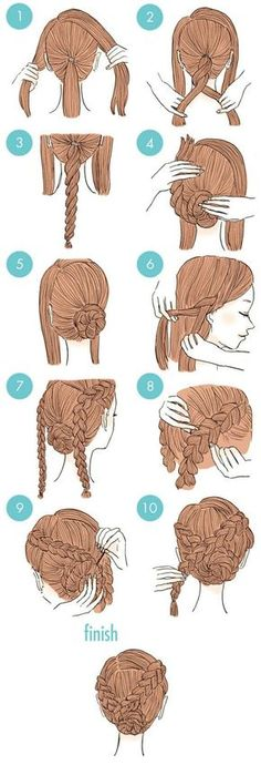 If you're feeling bored with your usual hairstyle but just don't want to go through all the expense and hassle of visiting the stylist, we have the perfect post for you. Japanese beauty site 'Kamimado' has compiled 20 super simple and conveniently quick hair styling ideas, each having an easy to follow pictured step-by-step tutorial. There's sure to be something here to suit everyone! Check them out!: