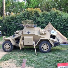 Replica Sd.Kfz. 222 armored car at the Military Vehicle Collectors of California vehicle meet in Lodi,CA. 24APR15