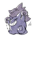 Gengar Pokemon, Ghost Pokemon, My Pokemon, Cool Pokemon, Ghost Type, Pokemon Images, Japanese Film, All Things Cute, Character Art