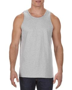 Athletic Heather (90% Cotton + 10% Polyester) - 1307 Alstyle Classic Adult Tank Top | T-shirt.ca