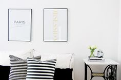 interior scandinavian prints
