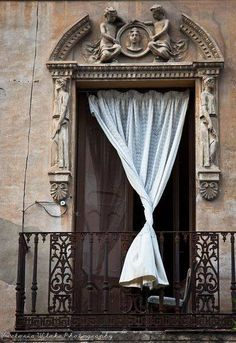 Balcony, Cordoba, Spain photo via anne