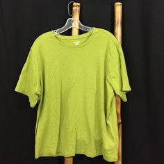Covington Short Sleeve Tee Covington Short Sleeve Tee.  Plus size 20/20 2W. 100% cotton. Color is a darker green then shown - see pic #4 Covington Tops Tees - Short Sleeve