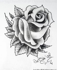 Black and white rose tattoo designs. Black and white rose tattoo designs for men. Black and white rose tattoo designs. Black and white rose tattoo designs for women. Black and white rose tattoo designs on shoulder. Black And White Rose Tattoo, Black And Grey Rose, White Rose Tattoos, Rose Flower Tattoos, Black And White Drawing, Flower Tattoo Designs, Black And Grey Tattoos, Tattoo Black, White Art