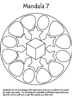 Mandala 7 coloring page