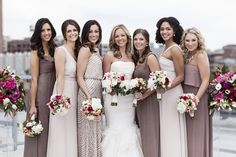 All of your bridesmaids needs from Bella Bridesmaids: http://www.stylemepretty.com/2015/03/03/6-reasons-to-love-bella-bridesmaids/