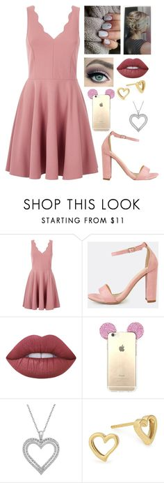 """Valentine's Day"" by juneisbest ❤ liked on Polyvore featuring Lime Crime, Belk & Co. and Alex and Ani"