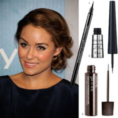 Best liquid eyeliners for the perfect cat eye: Maybelline, Dior, mark.