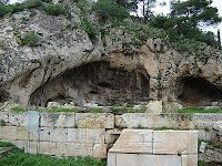 The Door to the Underworld - the Plutonion of Eleusis, Elefsina, Greece.
