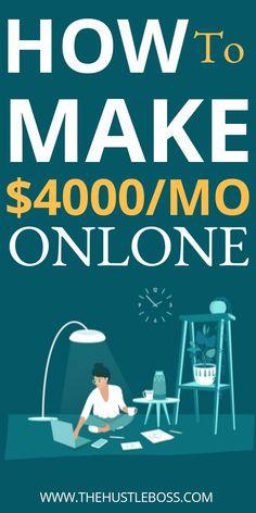 Mo Money, Earn Money From Home, Make Money Fast, Earn Money Online, Online Jobs, Online Work From Home, Work From Home Jobs, Online Business Opportunities, Career Opportunities