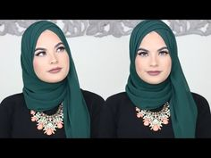 JERSEY HIJAB TUTORIAL Everyday simple style - YouTube