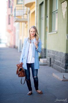 Zara Baby Blue Coat