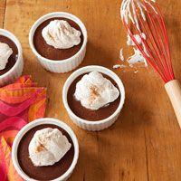 Dark Chocolate Chunk Bread Pudding