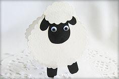 Schaf aus Papier mit Kindern basteln
