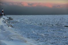 Lake Michigan Winter pictures 2014 Chicago   Screen Shot 2014-01-03 at 8.55.38 AM