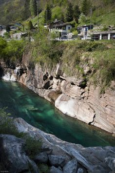 Crystal Clear Swiss River Verzasca 14