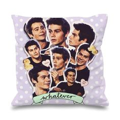 Dylan O'brien Collage Pillowcases Pillow Cases This pillow cover made from high…