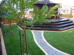 Project: San Mateo, CA Backyard Synthetic Grass Drought Tolerant Landscape, Artificial Turf, Backyard, Patio, Bay Area, Grass, Plants, Astroturf, Grasses