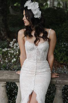 FRANCA floral wedding crown 7