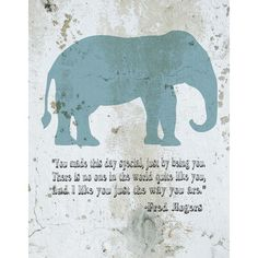 Found it at Wayfair - Animal Quotes You Made This Day Special Canvas Art