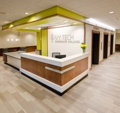 Projects and case studies > Inspiration > Mosa tiles Office Counter Design, Reception Counter Design, Shop Counter Design, Office Reception Design, Modern Reception Desk, Office Table Design, Home Office Design, Corporate Office Design, Showroom Interior Design