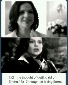 Regina has come a long way since season 1. She used to want to get rid of Emma, now the thought terrifies her.