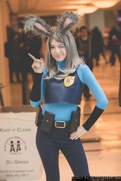 Officer Hopps #cosplay at KatsuCon 2017, Photo by DTJAAAAM