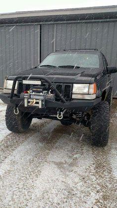 ZJ Grand Cherokee DIY bumper build