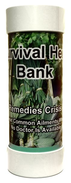 Survival Herb Bank -  The Survival Herb Bank is indestructible, you can even bury it!