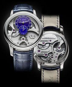 Insight Micro-Rotor, o primeiro relógio automático de Romain Gauthier - Para mais info  LINK NA BIO #baselworld2017 #finewatchmaking #hautehorlogerie #insightmicrorotor #independentwatchmaking #romaingauthier #relogioserelogios