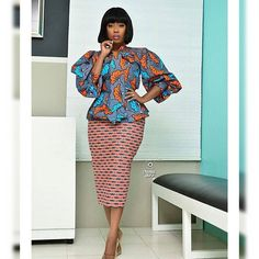 Let's all take a look at this attires and tell me at the end if this is not the trendiest Ankara styles you've seen today. Short African Dresses, Latest African Fashion Dresses, African Print Dresses, African Print Fashion, Africa Fashion, African Clothes, Ankara Fashion, Short Dresses, Ankara Skirt And Blouse