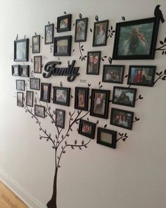 wanddeko selber machen wohnideen selber machen familienbaum aus fotos Sponsored Sponsored make wall decoration yourself make living ideas yourself family tree from photos Diy Home Decor, Room Decor, Home Decoration, Art Decor, Photo Deco, Creative Walls, Creative Design, Photo Displays, Tree Decorations