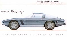 Iso Grifo 1963