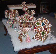 Gingerbread Carnival: 2007 Gingerbread Project . . . just for fun.