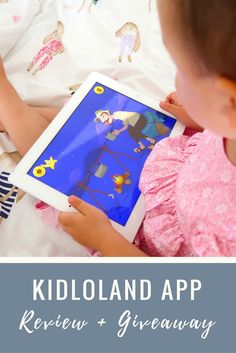 Kidloland, the perfect app for pre-schoolers. Learn about numbers, letters, sequencing, fruits, vegetables, words and a lot more.