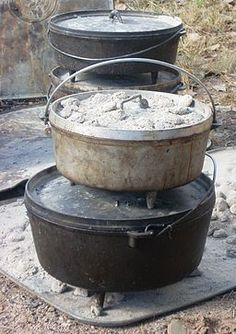 Choosing, Seasoning and Caring for Your Dutch Oven. Everything you need to know to get started with your own Dutch Oven!