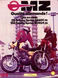 MZ - Publicité de 1974