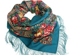 Chale Russe - Russian scarf by A LA RUSSE / Russisches Tuch A LA RUSSE