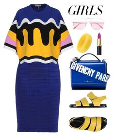 """Untitled #2630"" by ebramos ❤ liked on Polyvore featuring Emilio Pucci, Dsquared2, Marni, Givenchy and Oliver Peoples"