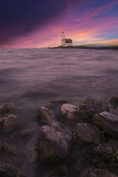 Marken lighthouse by feiro #ErnstStrasser #Niederlande #Netherlands