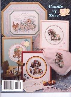Stoney Creek Book 87 Cradle of Love Cross Stitch Patterns, Gallery Wall, Country, Book, Frame, Decor, Dekoration, Decoration, Rural Area