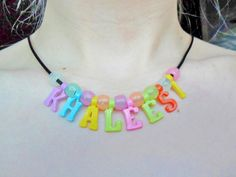 Khaleesi Game Of Thrones GOT Daenerys Targaryen Mother Of Dragons Rainbow Alphabet Necklace Pendant by Hoodratroughdiamond