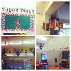 Tudor classroom display Classroom Display Boards, New Classroom, Classroom Displays, Classroom Ideas, Tudor, Geography, Year 6, History, School Stuff
